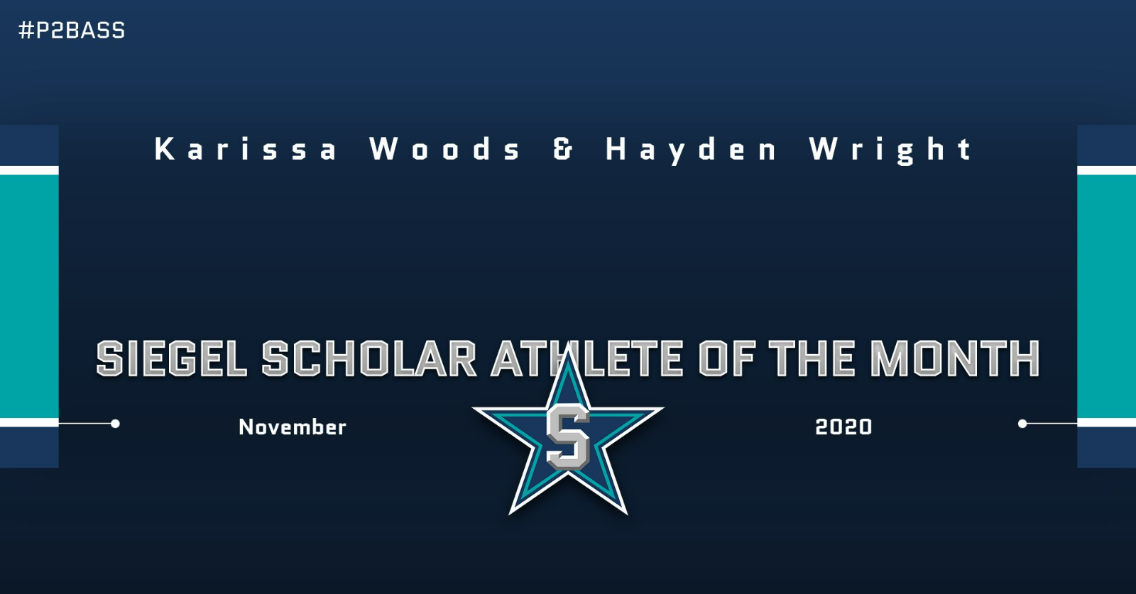 Siegel Scholar Athletes of the Month – November 2020