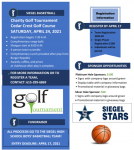 Siegel Boy's Basketball Golf Tournament Announced