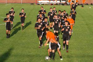 Boys JV Soccer vs Crown Point
