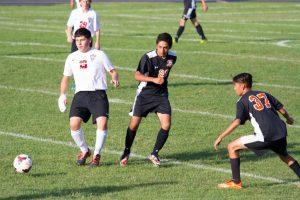 Boys JV Soccer vs Portage