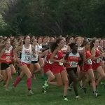 LaPorte High School Girls Varsity Cross Country finishes 5th place