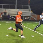 LaPorte High School Varsity Football beat Merrillville High School 46-35