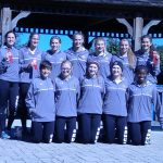 LaPorte High School Girls Varsity Cross Country finishes 2nd place