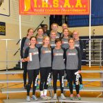 LaPorte High School Girls Varsity Cross Country finishes 3rd place