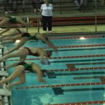 LaPorte High School Girls Varsity Swimming falls to Valparaiso High School 134-51