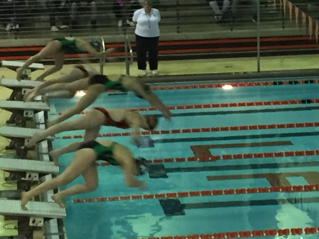 LaPorte High School Girls Varsity Swimming falls to Valparaiso High School 122-63