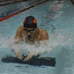LaPorte High School Boys Varsity Swimming beat Michigan City High School 93-92