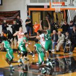 LaPorte High School Boys Varsity Basketball beat South Bend Washington Hs 60-55