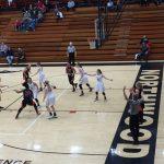 LaPorte High School Girls Varsity Basketball falls to NorthWood High School 43-42