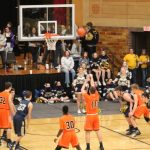 LaPorte High School Boys Varsity Basketball beat New Prairie High School 50-43