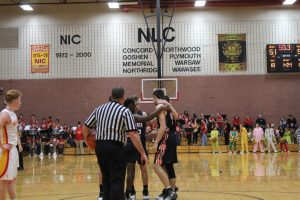 12-9-16 Boys Varsity Basketball at Elkhart Memorial