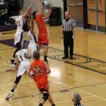 LaPorte High School Boys Varsity Basketball falls to Jeffesonville Tournament 59-58