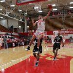 LaPorte High School Boys Varsity Basketball beat Jeffersonville Tournament 51-48