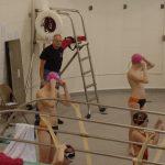 LaPorte High School Boys Varsity Swimming beat Wheeler High School 105-74
