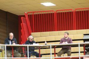 Boys Varsity Basketball at Plymouth 1/14/17