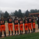 LaPorte High School Varsity Softball falls to Portage High School 10-3