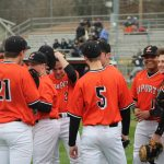 LaPorte High School Varsity Baseball beat Crown Point High School 5-3