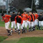 LaPorte High School Varsity Baseball beat New Prairie High School 7-1