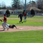LaPorte High School Varsity Baseball beat Plymouth High School 11-7