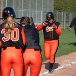 LaPorte High School Varsity Softball beat Jimtown High School 1-0