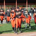 LaPorte High School Varsity Softball falls to Crown Point High School 7-0