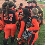LaPorte High School Varsity Softball beat Merrillville High School 20-0