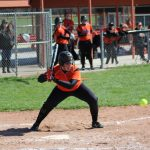 LaPorte High School Varsity Softball falls to Merrillville High School 12-6