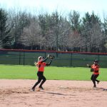 LaPorte High School Varsity Softball falls to Valparaiso High School 22-3