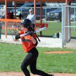LaPorte High School Varsity Softball beat Hobart High School 9-0
