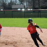 LaPorte High School Varsity Softball falls to Lake Central High School 9-3