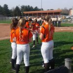 LaPorte High School Varsity Softball beat South Bend Adams High School  12-2