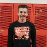 Tristan Poe named Outstanding Student at LaPorte HS