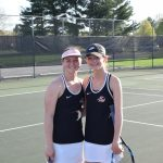LaPorte High School Girls Varsity Tennis beat Marquette Catholic High School 4-1