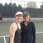 LaPorte High School Girls Varsity Tennis beat Chesterton High School 3-2