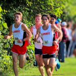 LaPorte High School Boys Varsity Cross Country finishes 7th place