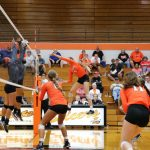 LaPorte High School Girls Varsity Volleyball beat Slicer Invitational 3-1