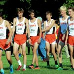 LaPorte High School Boys Varsity Cross Country finishes 9th place