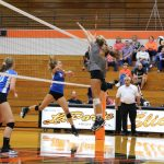 LaPorte High School Girls Varsity Volleyball beat Lake Central High School 3-0