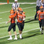LaPorte High School Varsity Football beat Michigan City High School 58-56