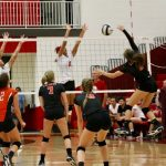 LaPorte High School Girls Varsity Volleyball beat Invitational 3-1