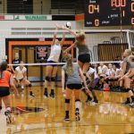LaPorte High School Girls Varsity Volleyball falls to Valparaiso High School 3-1