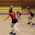 LaPorte High School Girls Varsity Volleyball beat Sectional 3-2