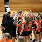 LaPorte High School Girls Varsity Volleyball falls to Penn High School 3-0