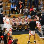 Boys Varsity Basketball falls to Crown Point 56 – 41