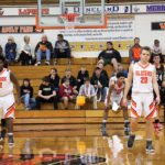 Boys Varsity Basketball falls to Merrillville 66 – 55