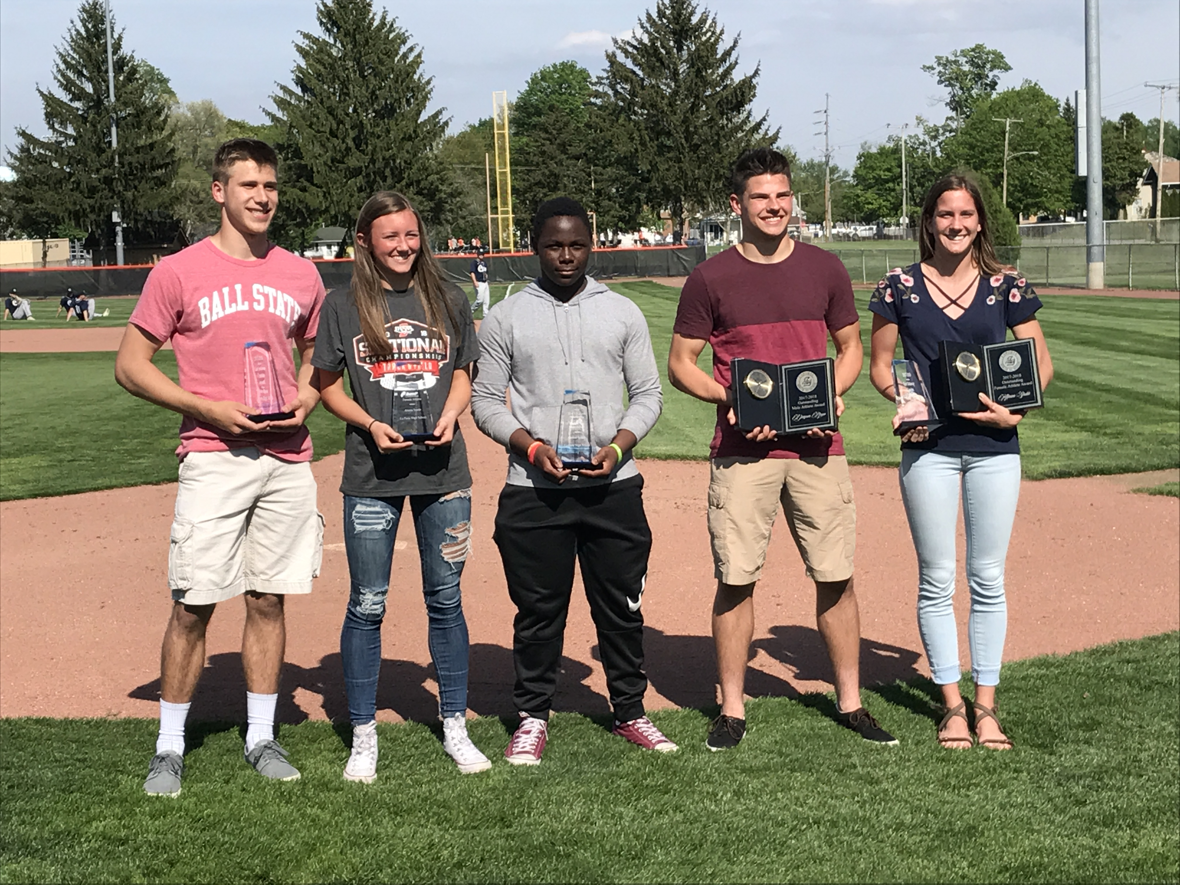Congratulations Slicer Athletic Award Winners
