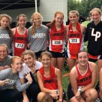 Girls Varsity Cross Country finishes 10th place at Invitational