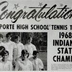 1968 LaPorte Boys Tennis State Champions to be honored this Saturday