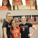 Three Slicers Make All DAC Volleyball Team