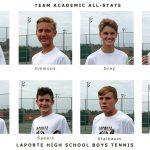 LaPorte Boys Tennis earns Team Academic All-State Honors